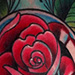 Light Bulb and Rose Tattoo Tattoo Design Thumbnail